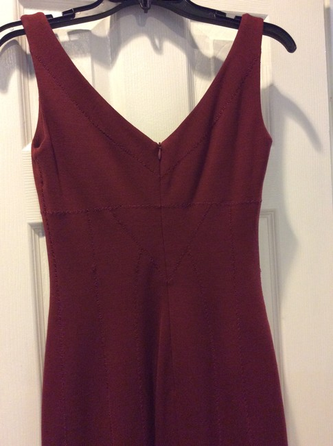 Dolce&Gabbana short dress maroon on Tradesy Image 8