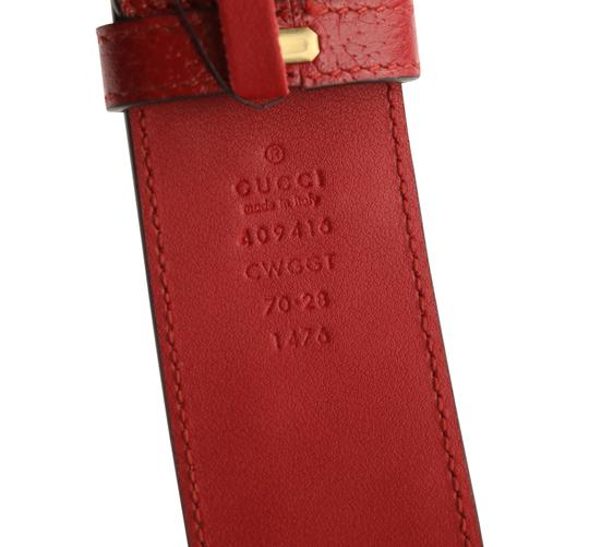 Gucci GG Marmont Flower Embroidered Calfskin Leather Image 11