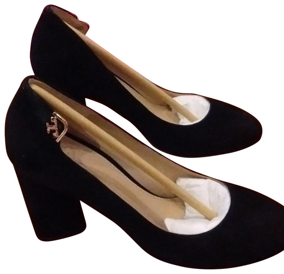 f14cb7ca7 Tory Burch Black 001 Elizabeth Round-toe Pumps Size US 5 Regular (M ...