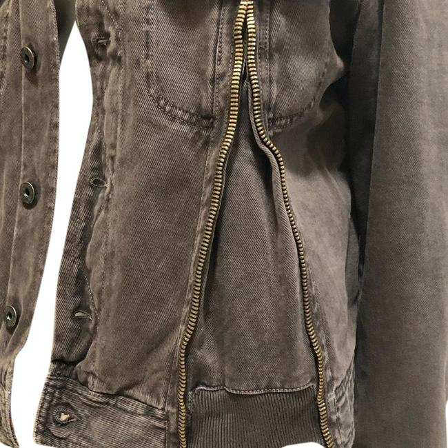 Preload https://img-static.tradesy.com/item/24373942/dolce-and-gabbana-brown-d-and-g-jacket-size-12-l-0-1-650-650.jpg