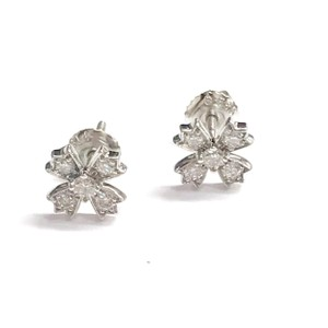 Tiffany & Co. GORGEOUS!!! Tiffany & Co. Platinum and Diamond Earrings Platinum 100% Authentic Guaranteed!!! Comes with a Box!!!