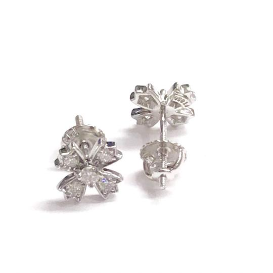 Tiffany & Co. GORGEOUS!!! Tiffany & Co. Platinum and Diamond Earrings Platinum 100% Authentic Guaranteed!!! Comes with a Box!!! Image 2