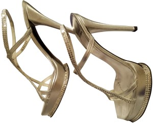 Stuart Weitzman Stiletto Sandal Silver Formal