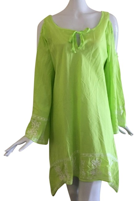 Preload https://img-static.tradesy.com/item/24374104/debbie-katz-lime-cold-should-beach-cover-tunic-cover-upsarong-size-2-xs-0-1-650-650.jpg