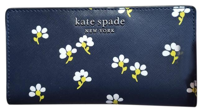 Item - Blue Stacy Floral Daisy Wallet