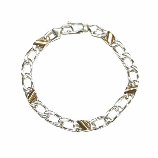 Preload https://img-static.tradesy.com/item/24374152/tiffany-and-co-stunning-silver-and-gold-italian-curb-link-made-of-18k-yellow-gold-and-sterling-silve-0-2-540-540.jpg