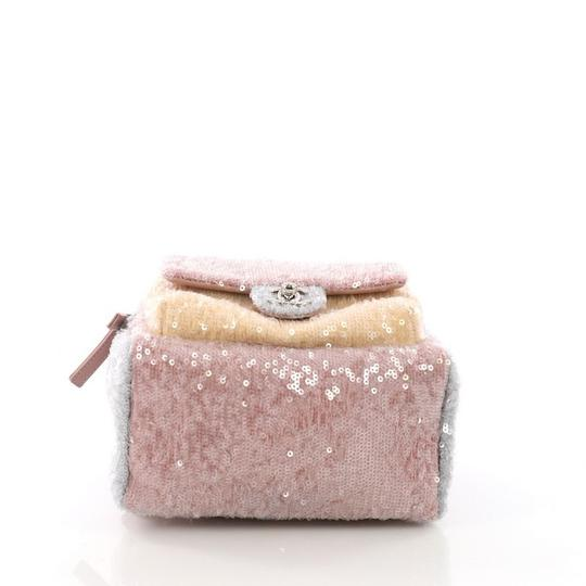 Chanel Sequins Leather Backpack
