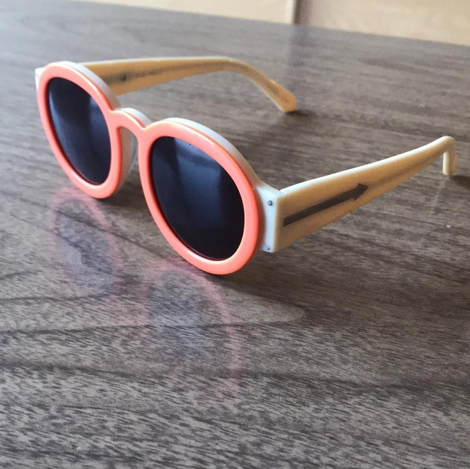 d5034177e5f Karen Walker Orange Peg Sunglasses - Tradesy