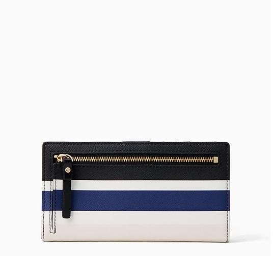 Kate Spade Kate Spade shore street stacy Wallet Cruise Stripe Image 3