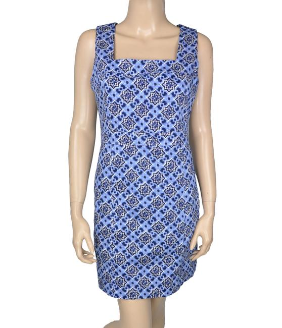 MM Couture short dress Blue Sheath Keyhole on Tradesy Image 2