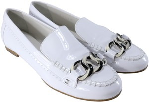 Chanel Loafers white Flats