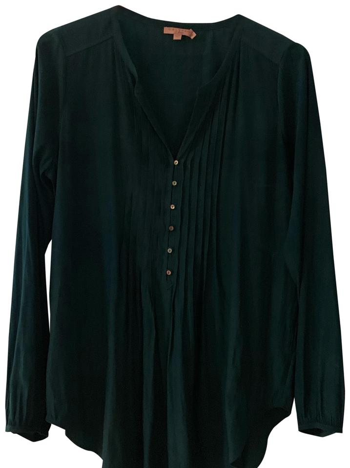 Calypso St Barth Deep Emerald Green Tunic
