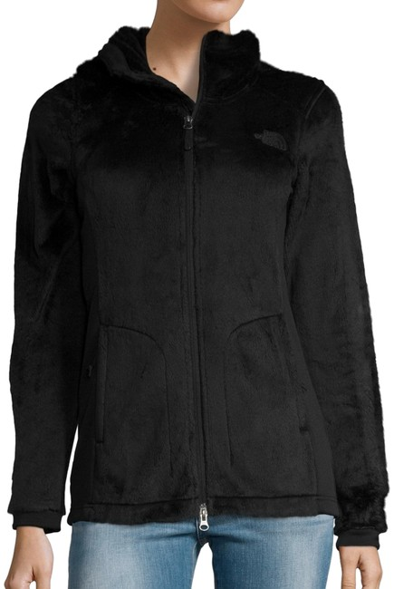 Item - Black Osito Parka Coat with Hoodie Activewear Outerwear Size 2 (XS)
