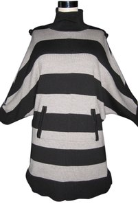Tory Burch Pockets Striped Sweater