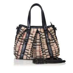 Burberry 8gbuto016 Tote in Brown