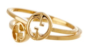 Gucci GUCCI 18K YELLOW GOLD DOUBLE RING SET