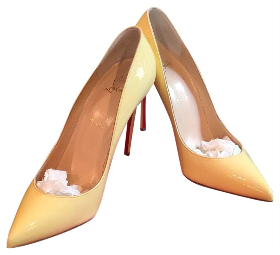 d371ef85ae0c Christian Louboutin Yellow Pigalle Follies 100 Vanille A Buttery Shade Of  Neutral That Goes with Simply Everything 90 Pumps