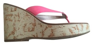 Jessica Simpson Hot Pink Sandals