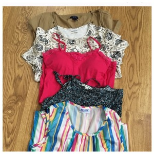 American Eagle Outfitters Top Blue multi