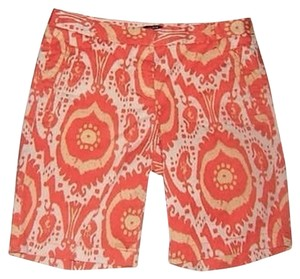 J. Crew Shorts Colorful IKAT