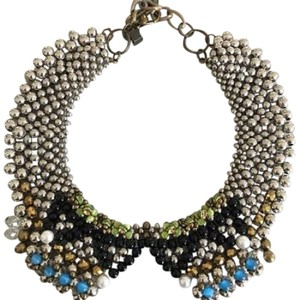 Anthropologie Sparked Agate Necklace