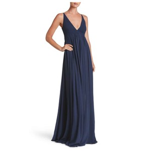 navy Maxi Dress by Dress the Population