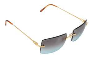 7722f41fbaa4 Gold Cartier Sunglasses - Up to 70% off at Tradesy