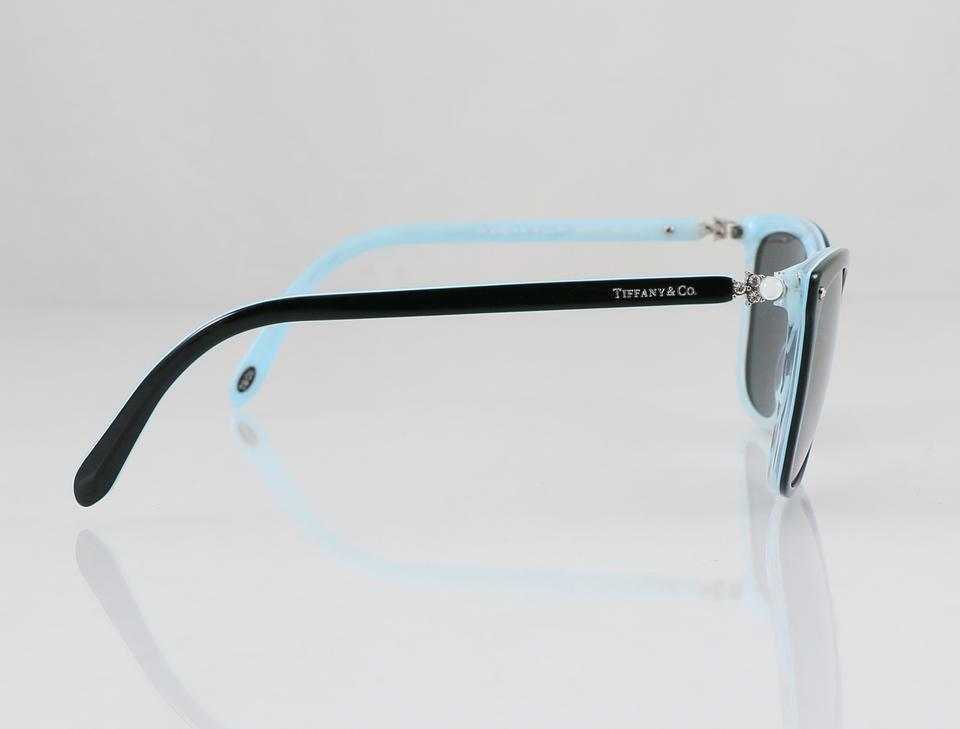 8ba335c37ae Tiffany   Co. Black   Blue Grad Square Aria Collection   Tf 4105-h-b ...