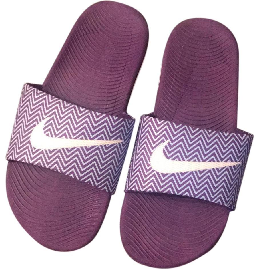 innovative design d51da e023b Purple Slides Sandals