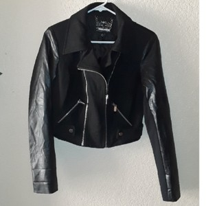 Blanc Noir Motorcycle Jacket