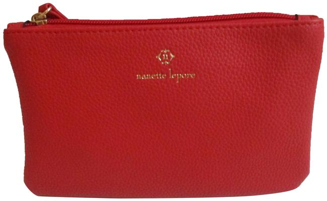 Item - Red Tomato Pebbled Zip Pouch Wallet