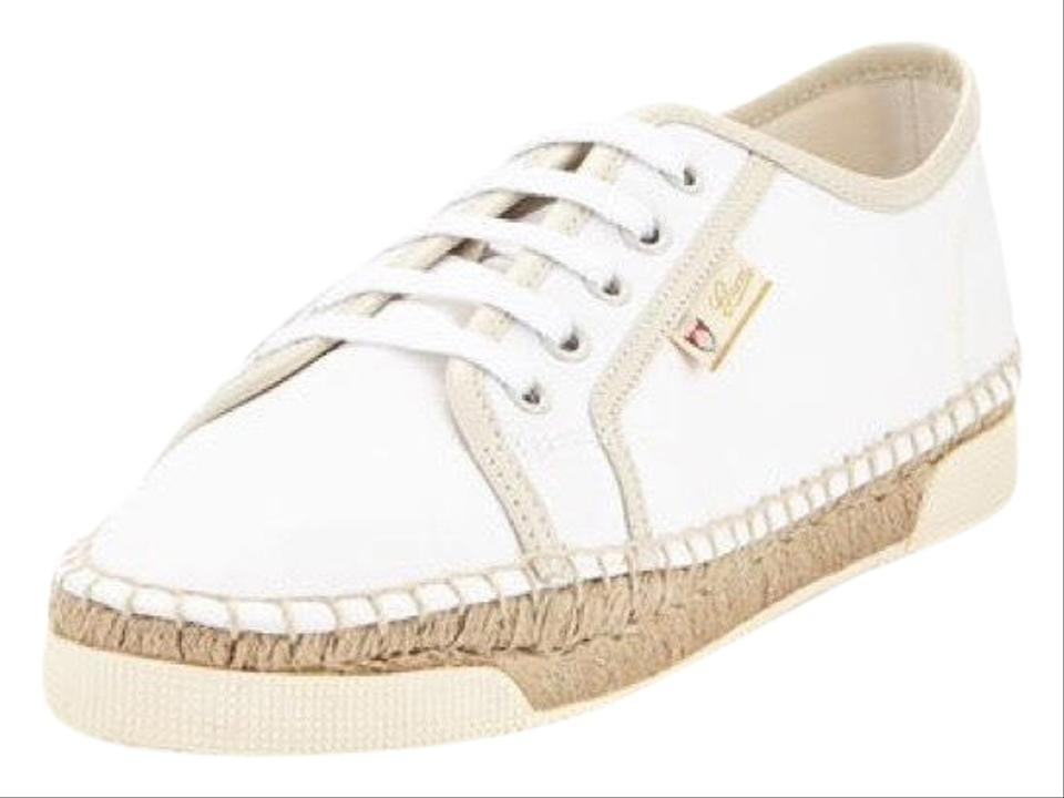2a18ac50bd7 Gucci Off White Eivissa Espadrille Sneaker Sneakers Size US 8.5 ...
