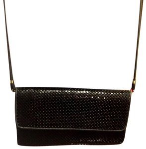 Whiting & Davis Black Clutch