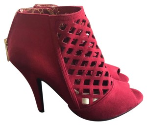 Christian Siriano for Payless Red Wedges
