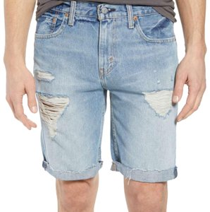 Levi's Cuffed Shorts blue
