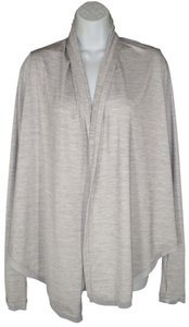 ALALA Stretch A-line Mesh Open Front Cardigan