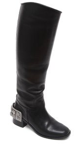 Chanel Riding Black Boots