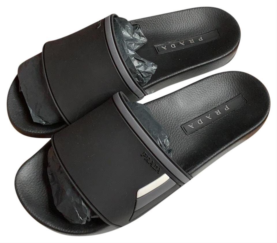 8ec0587a7 Prada men's colorblock rubber slice sandal BRAND NEW Sandals Image 0 ...