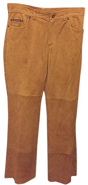 Item - Brown Dolce & Gabbana Suede Jeans - 40/26 Pants Size 8 (M, 29, 30)