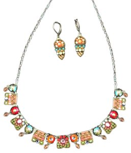 Ayala Bar Ayala Bar vintage necklace and earrings set