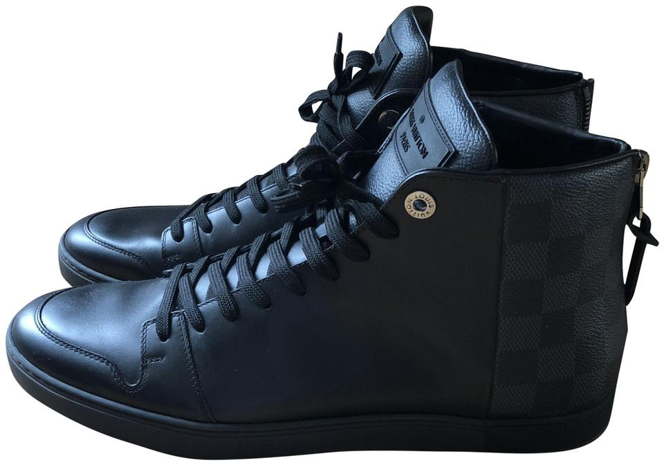 48597f7963 Louis Vuitton Black Line Up Sneaker Boot Sneakers Size US 9.5 Regular (M,  B) 38% off retail