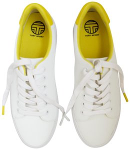 Tory Sport by Tory Burch White/Yellow Athletic