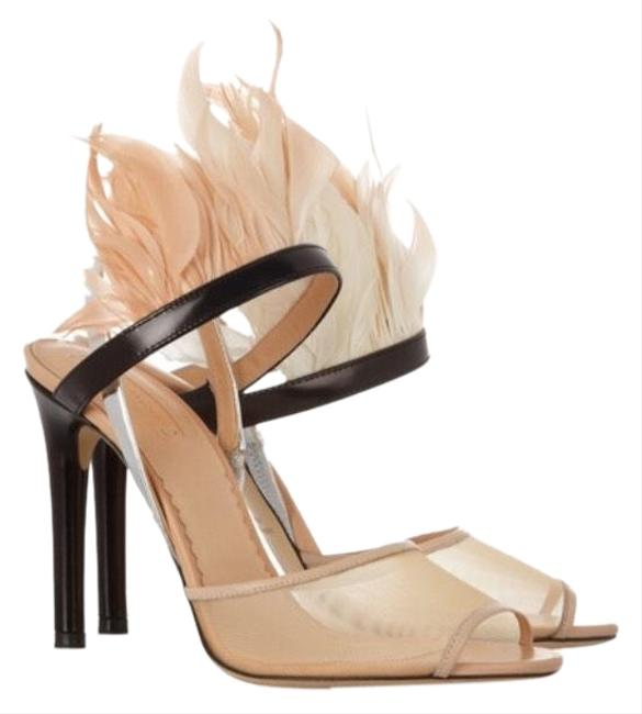 Item - Blush Feather Sandal Formal Shoes Size EU 39 (Approx. US 9) Regular (M, B)