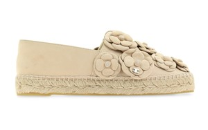 Chanel Espadrille nude Flats