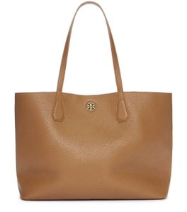 Tory Burch Brody Large Perry Tote in Bark Brown