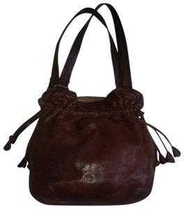 Lucky Brand Italian Lamb Leather Distressed Buterry Soft Leather Shoulder  Bag c45e3927b2