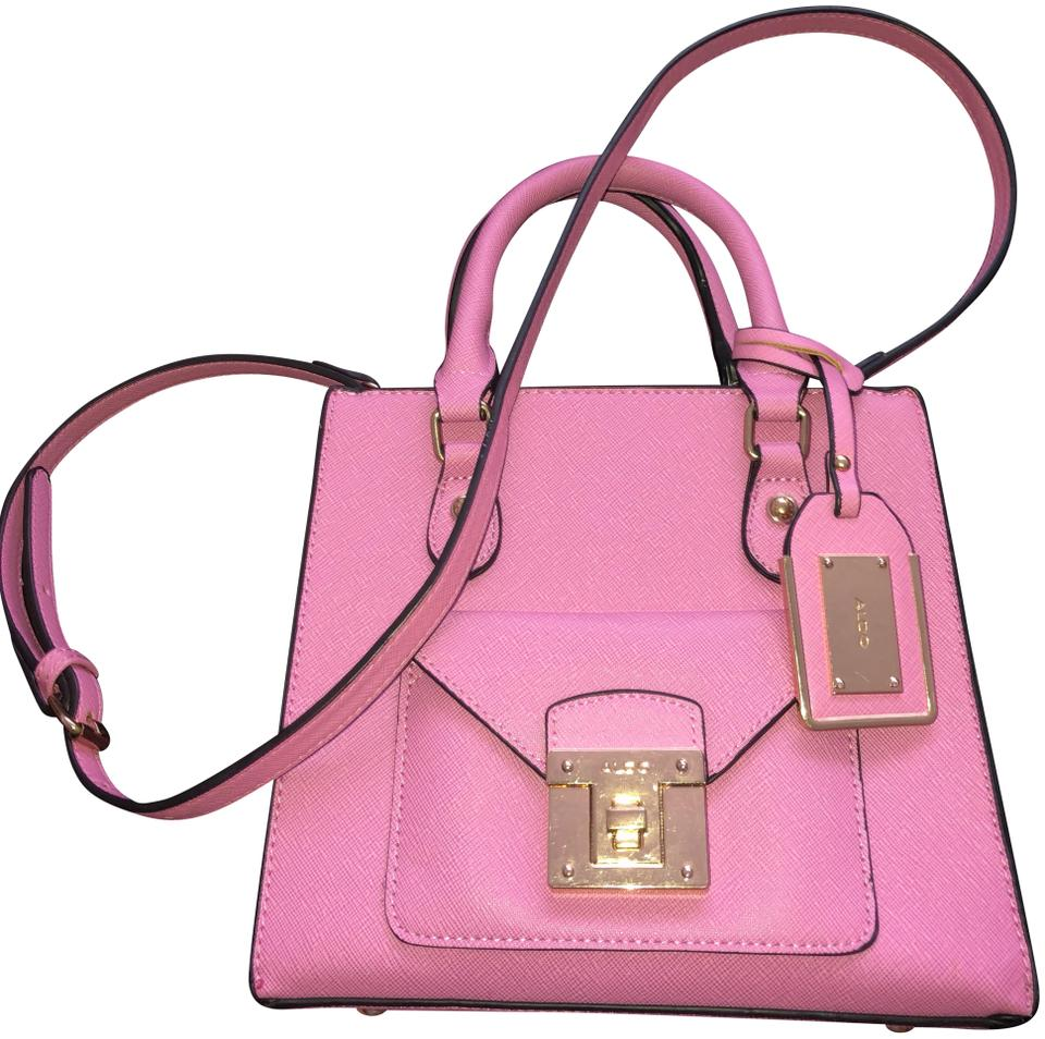 76274a7acf5 ALDO Chiadda Handbag Hot Pink Leather Cross Body Bag - Tradesy