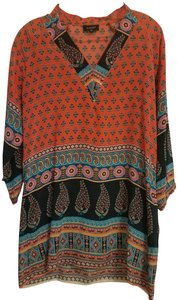Tolani Silk Dryclean Only Flowy Tunic