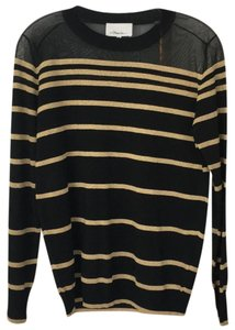 3.1 Phillip Lim Top black and gold