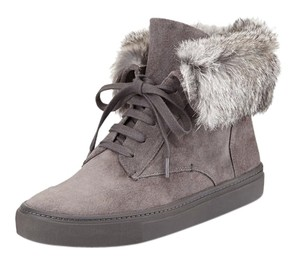 Vince Gray Suede Boots